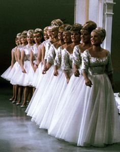 About the King Family.....I remember watching them sing.  I always loved their dresses.