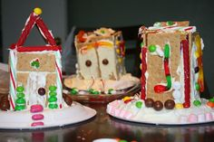 NYE Tradition- make gingerbread houses School at Home Momma: New Year's Celebrations