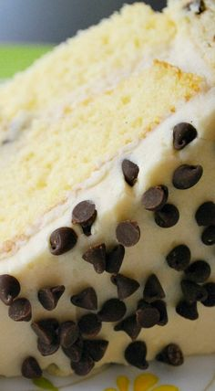 Chocolate Chip Cake Cookie Dough Cake