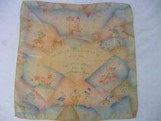 1927 Custom New Year's Art Deco Silk Print by PamelaMurphyVintage, $35.00