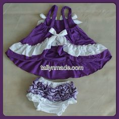Swing Top Set Baby Toddler Girls by TAILYNMADEBOUTIQUE on Etsy, $19.00