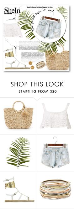 """""""Untitled #61"""" by lialondon ❤ liked on Polyvore featuring Hat Attack, Beauty & The Beach, Pier 1 Imports, Ancient Greek Sandals, Kendra Scott and Miriam Haskell"""