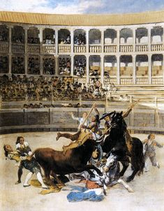 Francisco Goya Picador Caught by the Bull 1793