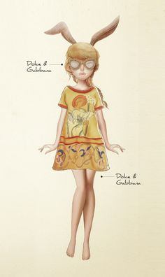 Dolce & Gabbana F/W 2013 by Karla Cordova Illustration.Files: Ready To Cut
