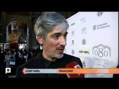 080 Desfile del diseñador Josep Abril. Conexión en directo con la pasarela 080, para ver la colección de Josep Abril, para el programa Connexió Barcelona de BTV