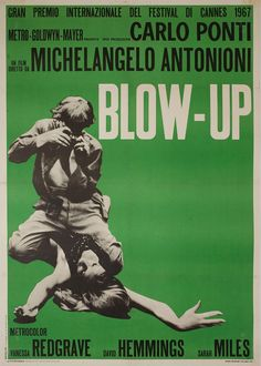 BLOW-UP (Michelangelo Antonioni, UK, 1966)