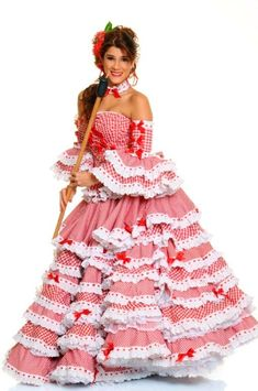 Resultado de imagen para imagenes de vestido de cumbia Doll Clothes Patterns, Clothing Patterns, Hijab Fashion Inspiration, Style Inspiration, Folklorico Dresses, Colombian People, Carmen Miranda, Gypsy Skirt, Costume Dress