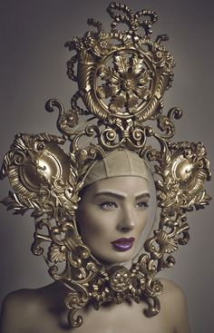 Just how would one carry on a serious conversation with the wearer of this headgear?