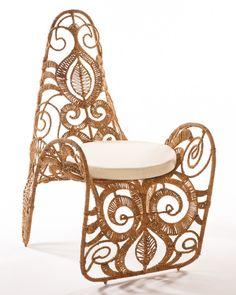 Bohemian Seagrass Indoor/Outdoor Arm Chair | Scenario Home