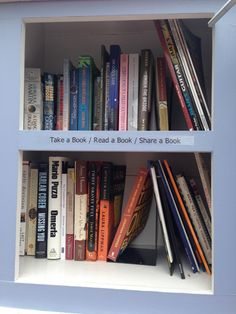 Be an awesome Little Free Library user