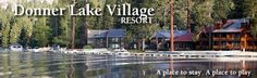 Stay in cozy lodgettes and residential-style condos or studios with kitchenettes and balconies overlooking Donner Lake, with views of the Sierra Nevadas. Lake Tahoe Lodging, Tahoe Hotels, Donner Lake, Family Adventure, Condo, Places, Vacations, Sleep, Travel