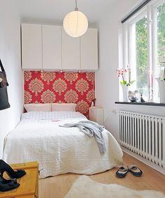 Molt bona idea per aprofitar l'espai en una habitació petita