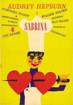 Sabrina Polish Poster Art 1954 Movie Poster Masterprint (24 x 36)