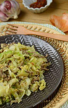 Orak arik - de Indomama Asian Vegetables, Veggies, Asian Gf, Asian Recipes, Healthy Recipes, Indonesian Food, No Cook Meals, Cabbage, Good Food