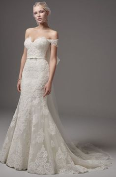 Featured Dress: Sottero and Midgley; Wedding dress idea.