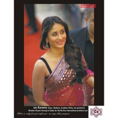 Bollywood Replica Exclusive Designer Kareena Kapoor/ Bebo Net Saree    SRQ2020