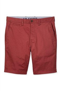 Stretch Chino Short Chino Shorts, Bermuda Shorts, Stretch Chinos, Shoe Size Conversion, Check Shirt, Festival Outfits, Festive, Casual, Fashion