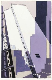 Find artworks by Charles Sheeler (American, 1883 - on MutualArt and find more works from galleries, museums and auction houses worldwide. Art Furniture, Charles Demuth, Scream, Alfred Stieglitz, Art Moderne, Paintings I Love, City Art, Urban Landscape, Portraits