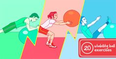 20 Super-Effective Stability Ball Exercises | Greatist