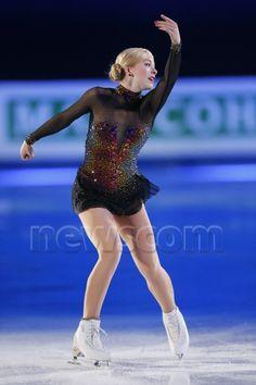 Gracie Gold - the volcano dress