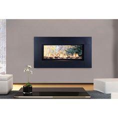 Monessen Artisan Exterior Wall See-thru Vent-free Fireplace