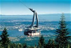 Sky Ride with Vancouver below