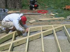 curved decking - Google Search