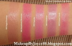 ! **❤ MakeupByJoyce ❤** !: Swatches: Revlon ColorBurst Lip Butters Part 1