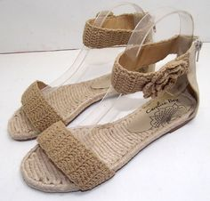 Aliexpress.com : Buy 2013 Summer handmade crochet barefoot open toe flat casual womens sandals,tb cute fashion strappy shoes designer,ladies sandals from Reliable white sandal suppliers on Sunflower Clan.