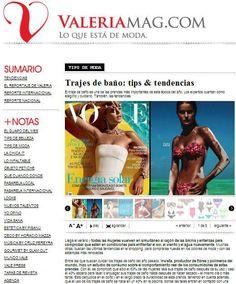 ValeriaMag   Consejos para elegir el traje de baño más adecuado para estas vacaciones. (Diciembre de 2012)