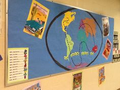 Accelerated Reader Theme: Reading Around the World / Amazing Race Library Themes, Library Activities, Classroom Activities, Library Ideas, Reading Activities, School Wide Themes, School Ideas, Around The World Theme, Reading Incentives