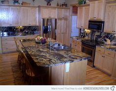 15 Different Granite Kitchen Countertops