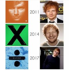 Ed Sheeran 2011-2017