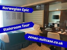 Tips For Cruising With Norwegian Epic + Room Tour - Zena's Suitcase