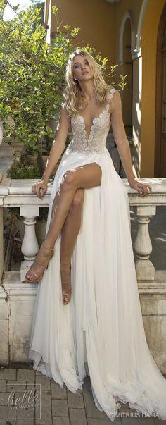 Dimitrius Dalia Wedding Dresses 2017 - Tel Aviv Collection #weddingdresses #weddinggowns #bridaldress #bride #bridal #bridalgown #brides #weddings