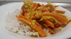 Curry, Food Network, Carrots, Main Dishes, Food And Drink, Favorite Recipes, Healthy Recipes, Meals, Vegetables