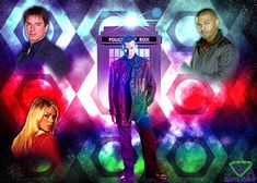 vvjosephvv - Professional, Digital Artist   DeviantArt Ninth Doctor, Doctor Who, Police Box, Television Program, Time Lords, Dr Who, Tardis, Science Fiction, Deviantart
