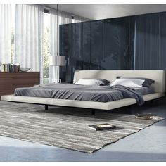 Modloft Jane Upholstered Platform Bed & Reviews | AllModern