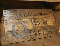 Live Like Someone left the Gate Open Western by DakotaCountry