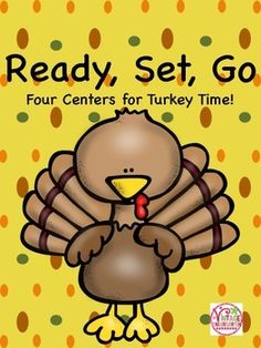Are you looking for some easy centers for November?  Use this set of 4 centers to bring Thanksgiving to your classroom.Included:*Math           *Roll, count, and color           *Feathers in numerical order*Literacy           *Spin and write letters or words           *Spell CVC words