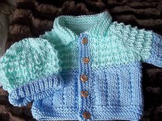 BN Hand Knitted Baby Boys TWO Piece SET Baby 6 12 Month Reborn 22 24 Inch | eBay