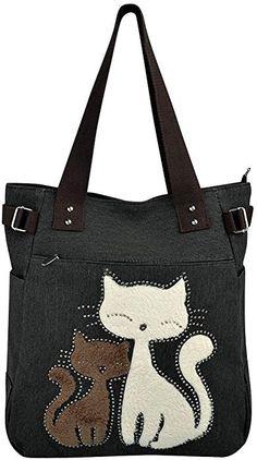 handbags, purses and bags Denim Bag Patterns, Bag Patterns To Sew, Patchwork Bags, Quilted Bag, Cat Bag, Handmade Handbags, Linen Bag, Fabric Bags, Purses And Bags