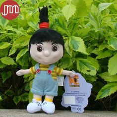 """Find More Movies & TV Information about New 1 PCS Kawaii Minions Agnes Despicable Me 6"""" Minion Peluche Doll Kids Toys Baby Dolls Brinquedos Anime Juguetes,High Quality doll clearance,China doll mouth Suppliers, Cheap doll child from M&J Toys Global Trading Co.,Ltd on Aliexpress.com"""