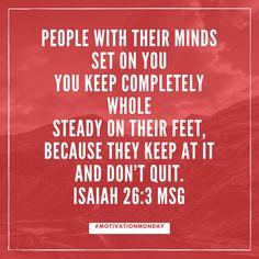 Let Jesus steady you today! #keepwalking