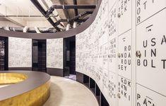 DE VONDELGYM OOST designed by TANK