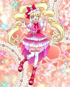 Pretty Cure, Pretty And Cute, The Cure, Anime Character Drawing, Shugo Chara, Glitter Force, Girls Series, Princess Girl, Everything