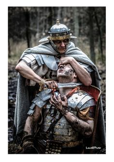 Service in Roman legions was not a joke. by reenactors from Legio XXI Rapax… Ancient Rome, Ancient Greece, Ancient History, Roman Armor, World Of Warriors, Roman Legion, Templer, Roman Soldiers, Roman History