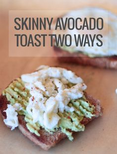 Skinny Avocado Toast