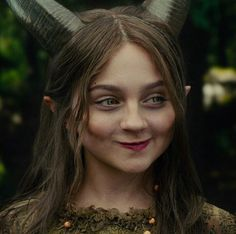 One of my favorite expressions from Young Maleficent. This captures her impish nature.