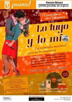 LO TUYO Y LO MIO, en el Teatro Fernán Gómez